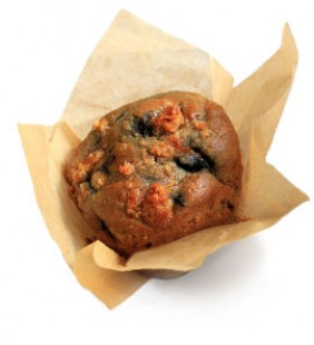 Blueberry Flax + Granola Muffin