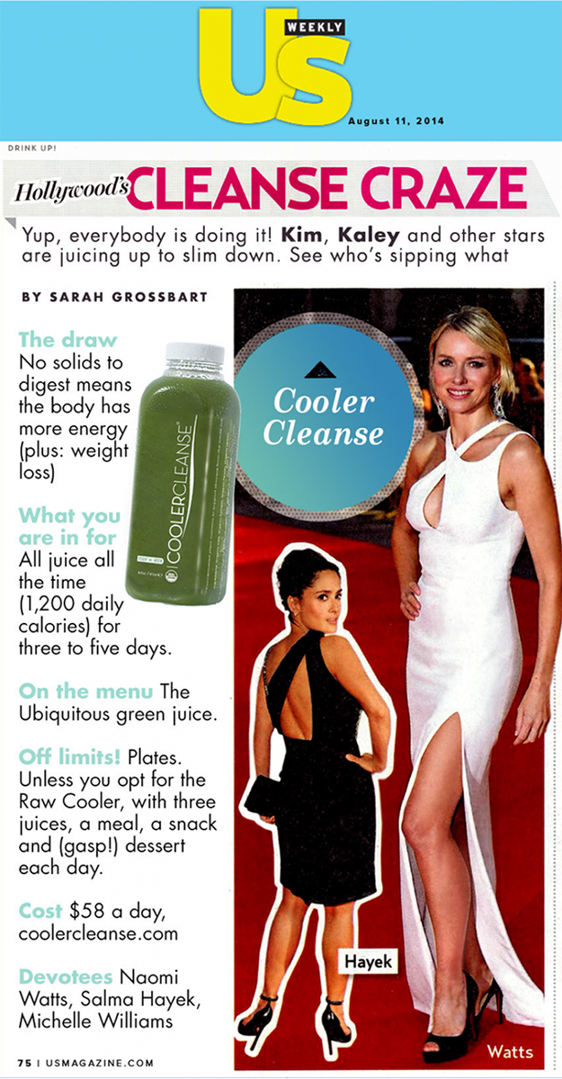 5 Day Cooler Cleanse Juice Generation