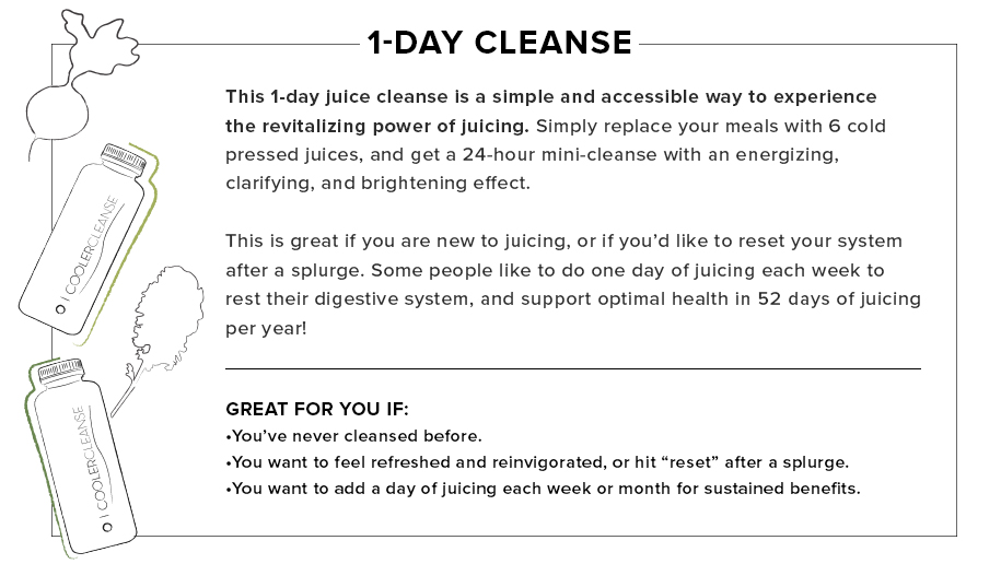 1-Day Cooler Cleanse