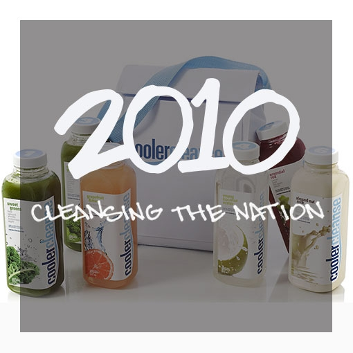 Cooler Cleanse Bag and 6 juice bottles