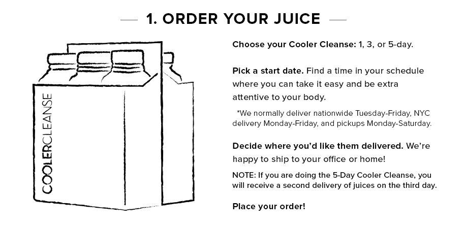 Step 1 - Order Your Juice
